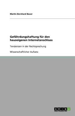 Gefahrdungshaftung Fur Den Hauseigenen Internetanschluss (Paperback)