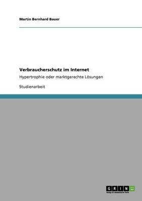 Verbraucherschutz Im Internet (Paperback)