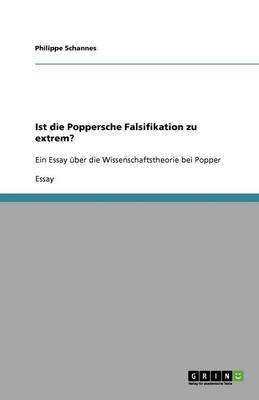 Ist Die Poppersche Falsifikation Zu Extrem? (Paperback)