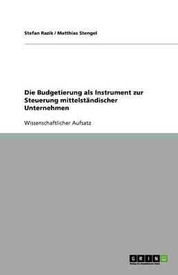 Die Budgetierung ALS Instrument Zur Steuerung Mittelstandischer Unternehmen (Paperback)