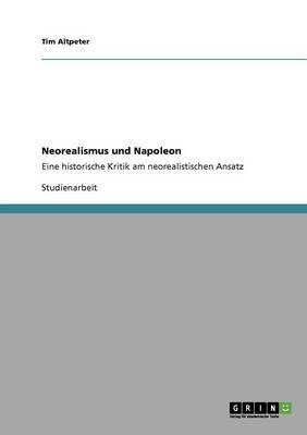 Neorealismus Und Napoleon (Paperback)