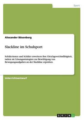 Slackline Im Schulsport (Paperback)