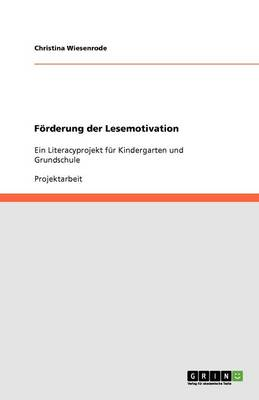 Forderung Der Lesemotivation (Paperback)