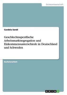 Geschlechtsspezifische Arbeitsmarktsegregation Und Einkommensunterschiede in Deutschland Und Schweden (Paperback)