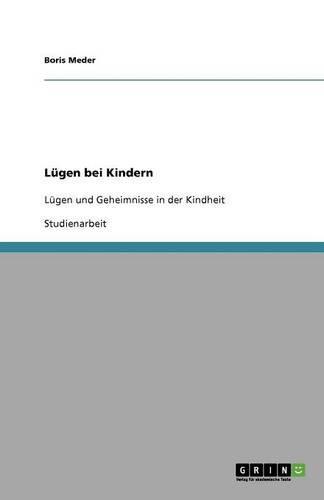 Lugen Bei Kindern (Paperback)