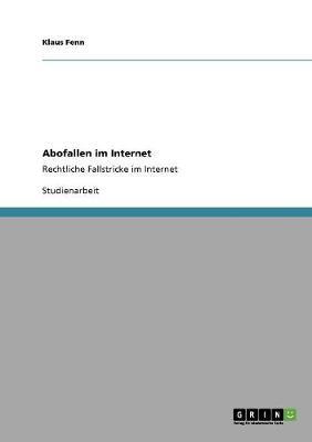 Abofallen Im Internet (Paperback)