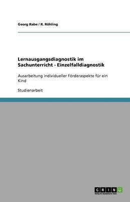 Lernausgangsdiagnostik Im Sachunterricht - Einzelfalldiagnostik (Paperback)