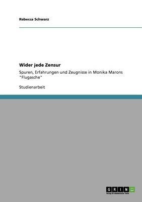 Wider Jede Zensur (Paperback)