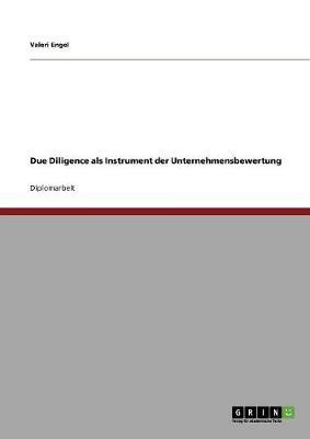 Due Diligence ALS Instrument Der Unternehmensbewertung (Paperback)