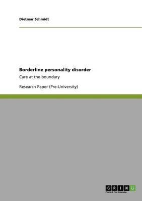 Borderline Personality Disorder (Paperback)
