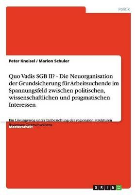 Quo Vadis Sgb II? Neuorganisation Der Grundsicherung Fur Arbeitsuchende (Paperback)