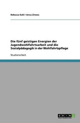 Die F nf Geistigen Energien Der Jugendwohlfahrtsarbeit Und Die Sozialp dagogik in Der Wohlfahrtspflege (Paperback)