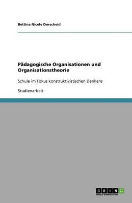 Padagogische Organisationen Und Organisationstheorie (Paperback)