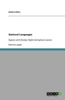 Gestural Languages (Paperback)