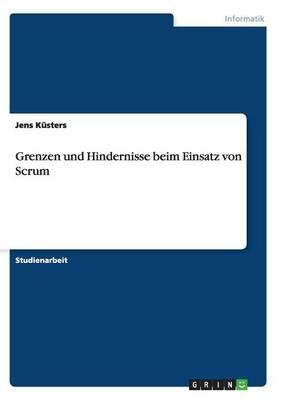 Grenzen Und Hindernisse Beim Einsatz Von Scrum (Paperback)