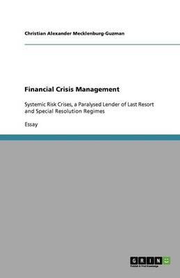 Financial Crisis Management (Paperback)