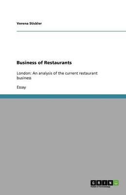 Business of Restaurants (Paperback)