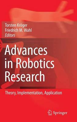 Advances in Robotics Research: Theory, Implementation, Application (Hardback)