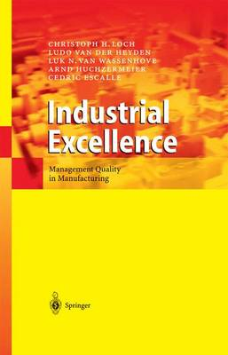 Industrial Excellence: Management Quality in Manufacturing (Paperback)