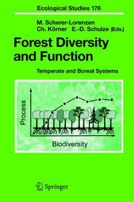 Forest Diversity and Function: Temperate and Boreal Systems - Ecological Studies 176 (Paperback)