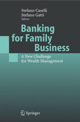 Banking for Family Business: A New Challenge for Wealth Management (Paperback)