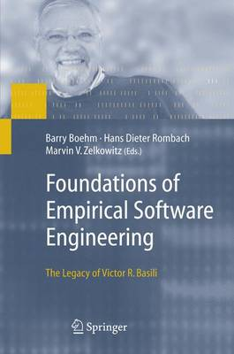 Foundations of Empirical Software Engineering: The Legacy of Victor R. Basili (Paperback)