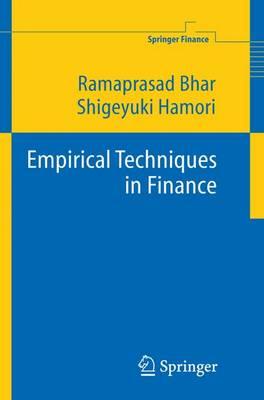 Empirical Techniques in Finance - Springer Finance (Paperback)