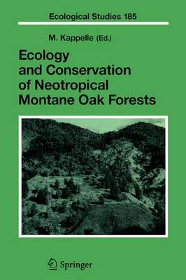 Ecology and Conservation of Neotropical Montane Oak Forests - Ecological Studies 185 (Paperback)
