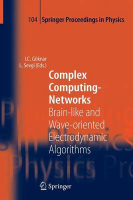 Complex Computing-Networks: Brain-like and Wave-oriented Electrodynamic Algorithms - Springer Proceedings in Physics 104 (Paperback)