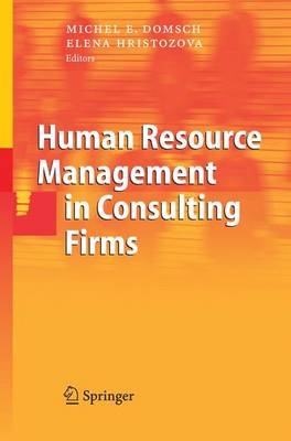 Human Resource Management in Consulting Firms (Paperback)