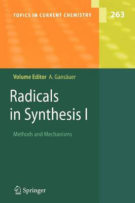 Radicals in Synthesis I: Methods and Mechanisms - Topics in Current Chemistry 263 (Paperback)