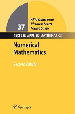 Numerical Mathematics - Texts in Applied Mathematics 37 (Paperback)