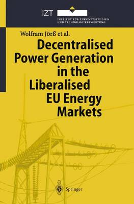 Decentralised Power Generation in the Liberalised EU Energy Markets: Results from the DECENT Research Project (Paperback)