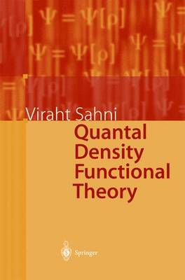 Quantal Density Functional Theory (Paperback)