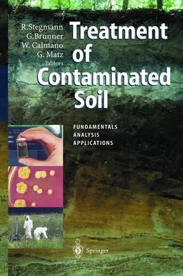 Treatment of Contaminated Soil: Fundamentals, Analysis, Applications (Paperback)