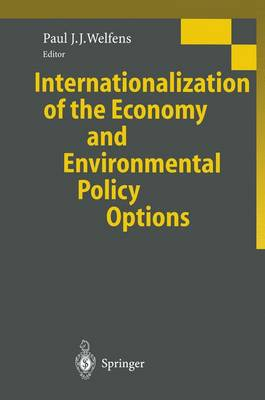 Internationalization of the Economy and Environmental Policy Options (Paperback)