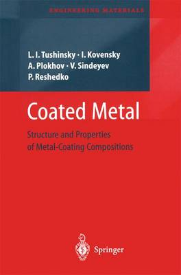 Coated Metal: Structure and Properties of Metal-Coating Compositions - Engineering Materials (Paperback)