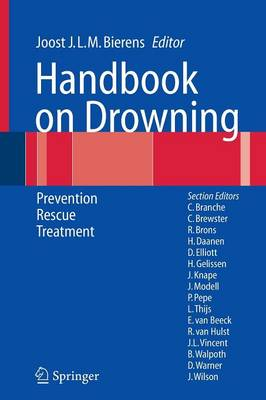Handbook on Drowning: Prevention, Rescue, Treatment (Paperback)