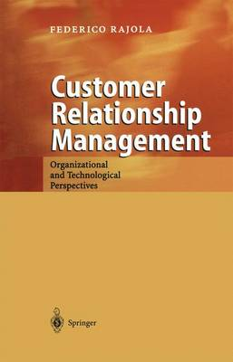 Customer Relationship Management: Organizational and Technological Perspectives (Paperback)