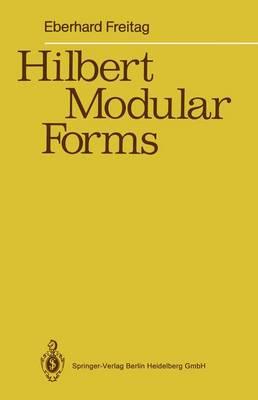 Hilbert Modular Forms (Paperback)