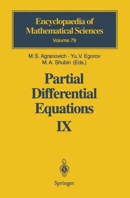 Partial Differential Equations IX: Elliptic Boundary Value Problems - Encyclopaedia of Mathematical Sciences 79 (Paperback)