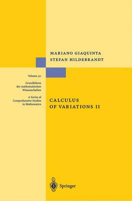 Calculus of Variations II - Grundlehren der mathematischen Wissenschaften 311 (Paperback)