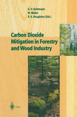 Carbon Dioxide Mitigation in Forestry and Wood Industry (Paperback)