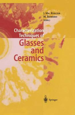 Characterization Techniques of Glasses and Ceramics (Paperback)