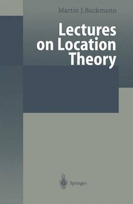 Lectures on Location Theory (Paperback)