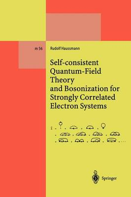 Self-consistent Quantum-Field Theory and Bosonization for Strongly Correlated Electron Systems - Lecture Notes in Physics Monographs 56 (Paperback)
