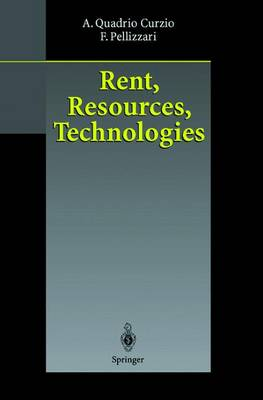 Rent, Resources, Technologies (Paperback)
