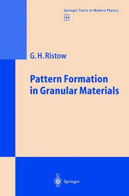 Pattern Formation in Granular Materials - Springer Tracts in Modern Physics 164 (Paperback)