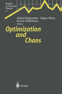 Optimization and Chaos - Studies in Economic Theory 11 (Paperback)