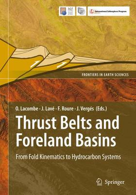 Thrust Belts and Foreland Basins: From Fold Kinematics to Hydrocarbon Systems - Frontiers in Earth Sciences (Paperback)